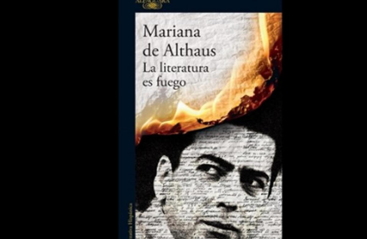 Mariana de Althaus muestra a un Vargas Llosa distinto al actual en sulibro
