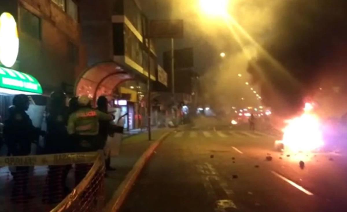 La policía debió reflexionar antes de agredir asanmarquinos