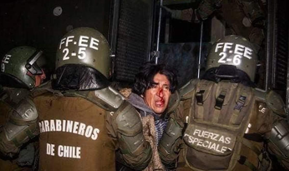 Un gran dolor por nuestros vecinos Chile yBolivia