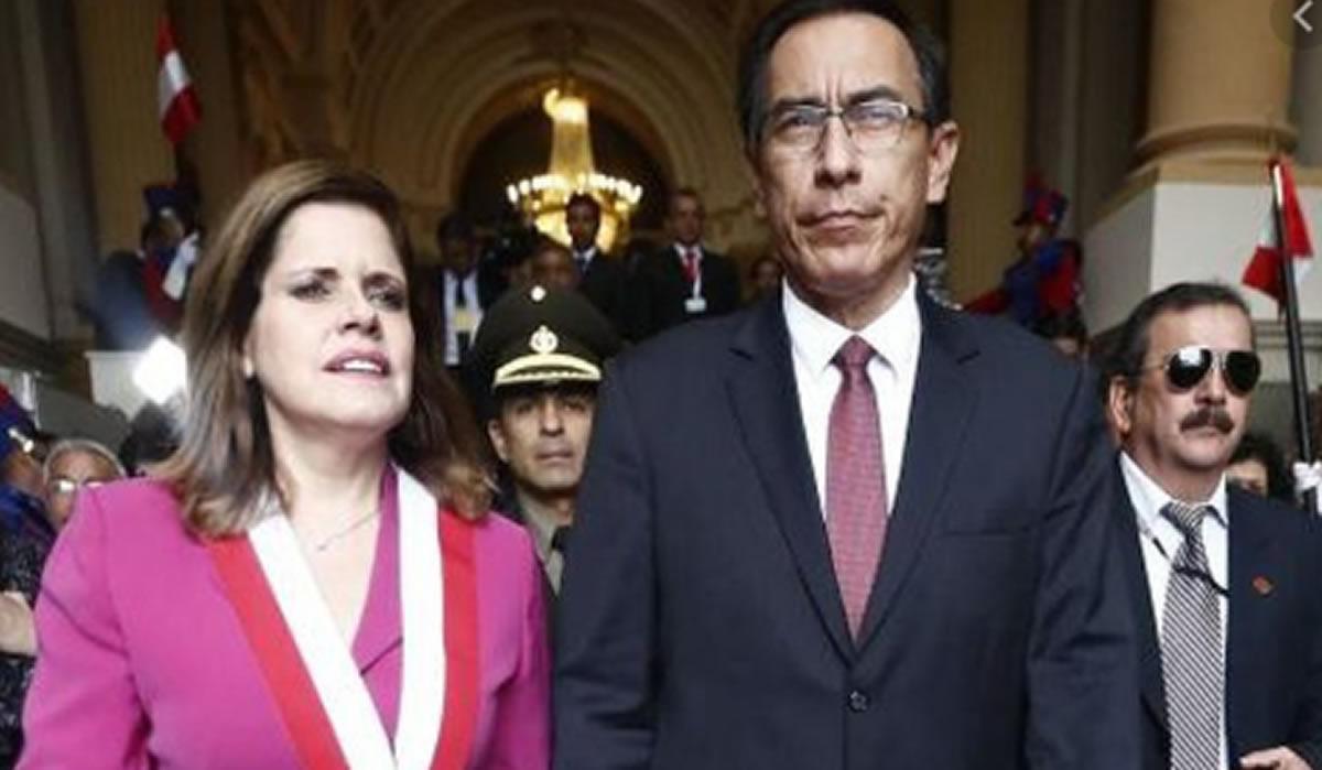Un héroe y una villana: Martín Vizcarra y MercedesAraoz