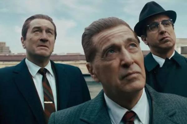 The Irishman: Robert De Niro y Al Pacino juntos en magnífico filme deScorsese