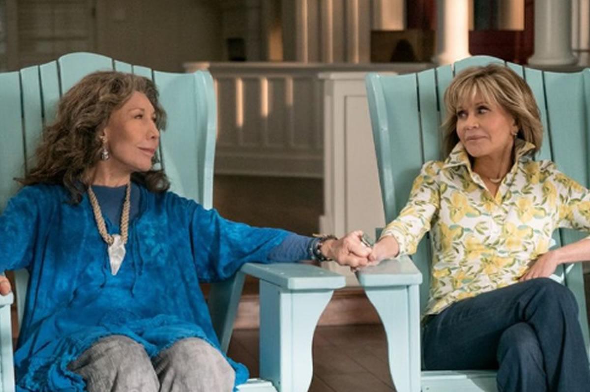 Grace y Frankie, la comedia de Netflix sobre la amistadfemenina