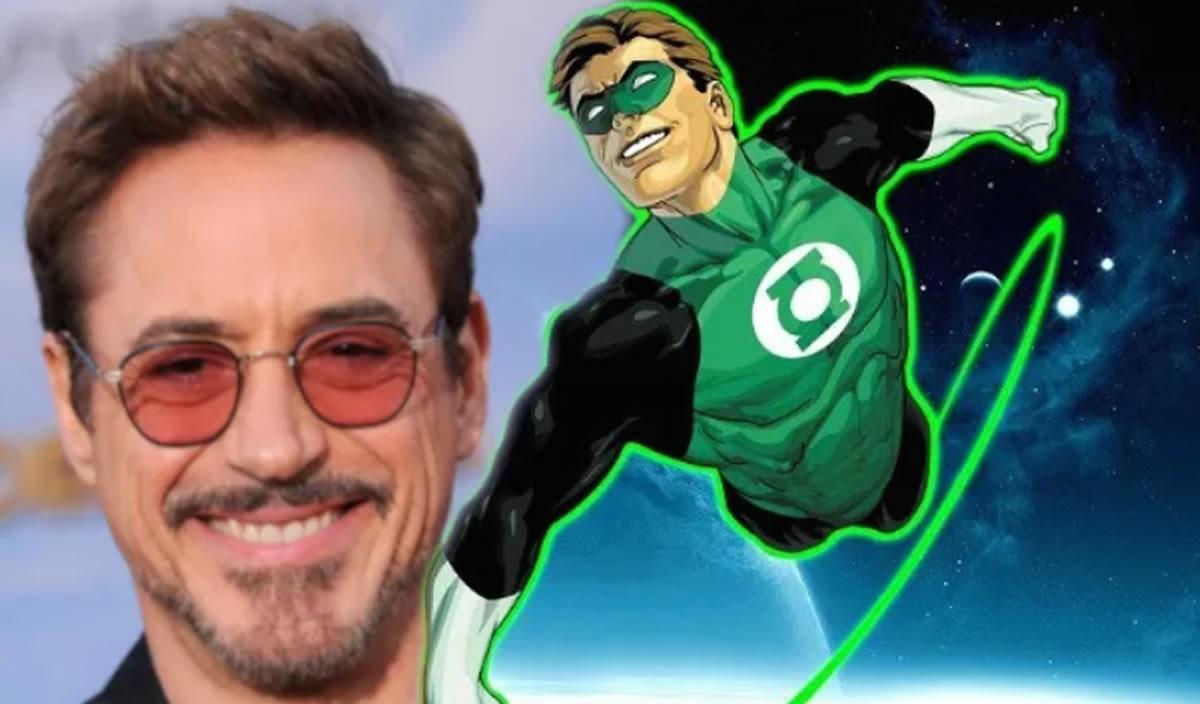 De Iron Man a Linterna Verde, Robert Downey Jr. cambia depiel