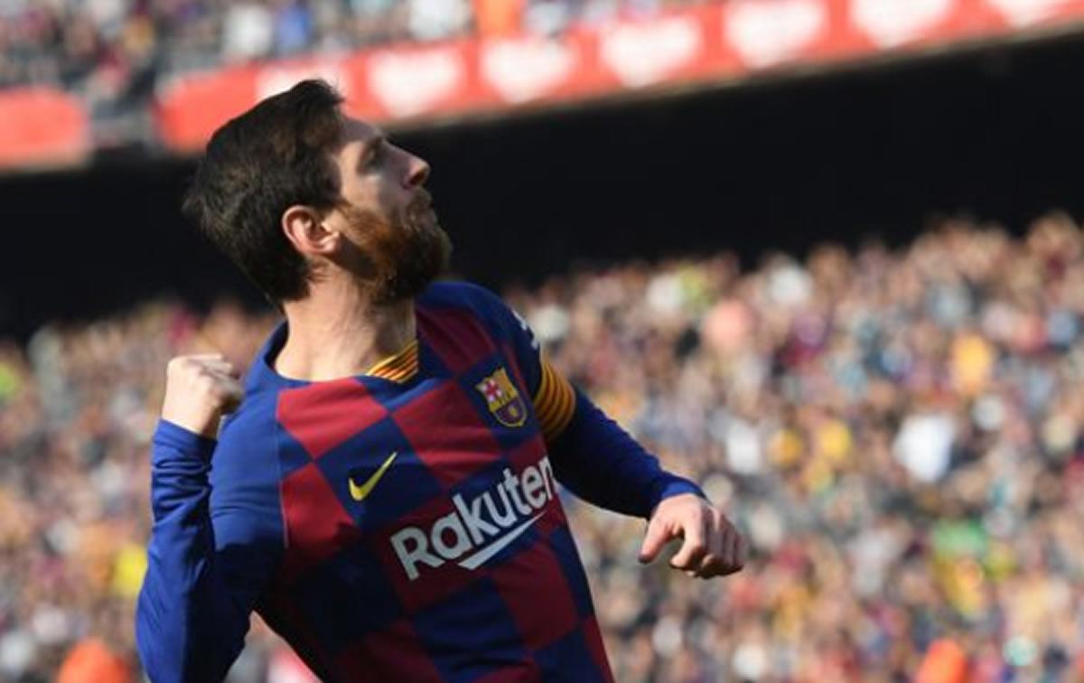 Lionel Messi mete cuatro y se prepara para semanabrava