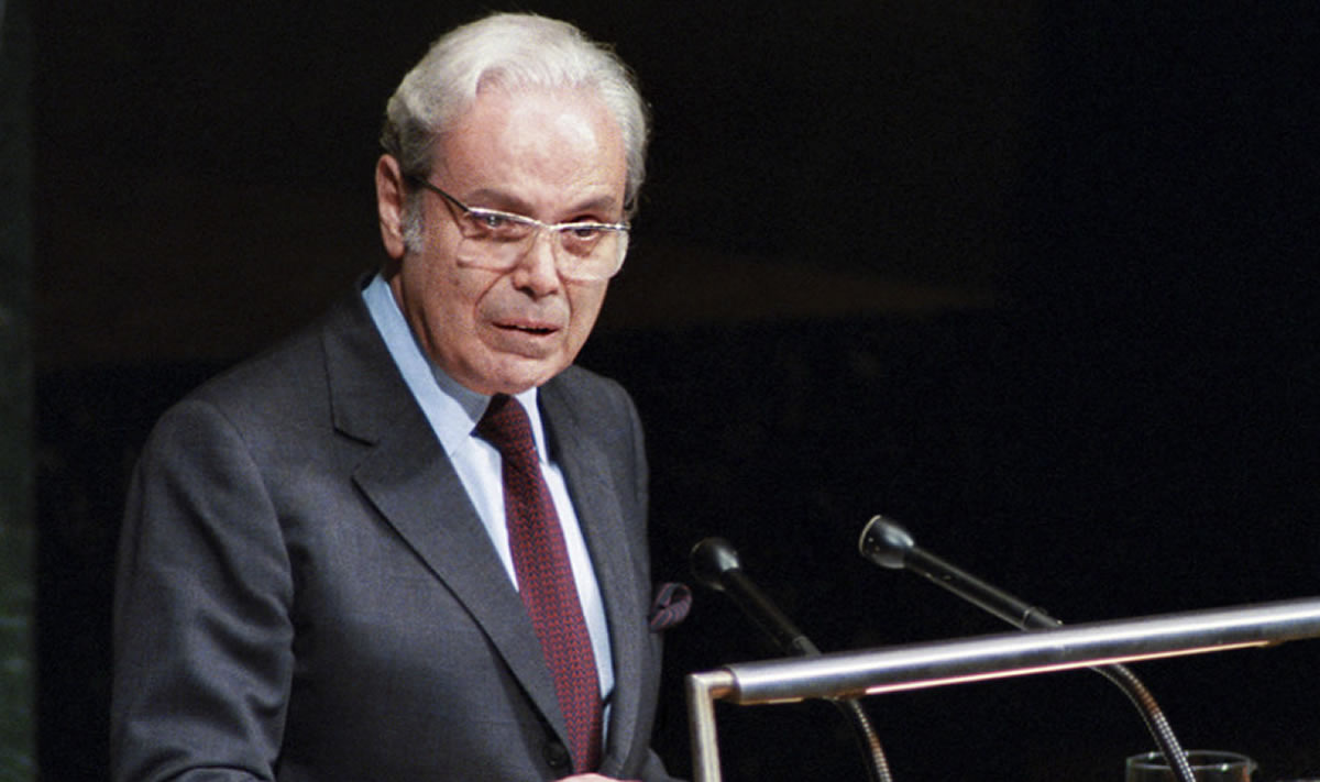 El Perú recuerda a Javier Pérez de Cuéllar, nuestro Secretario General de laONU