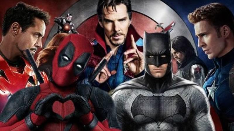 Las películas de superhéroes para disfrutar en plenacuarentena