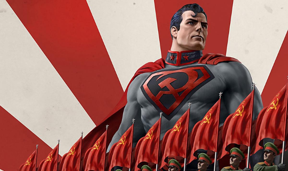 Superman comunista, el ambiente condiciona al Hombre deAcero