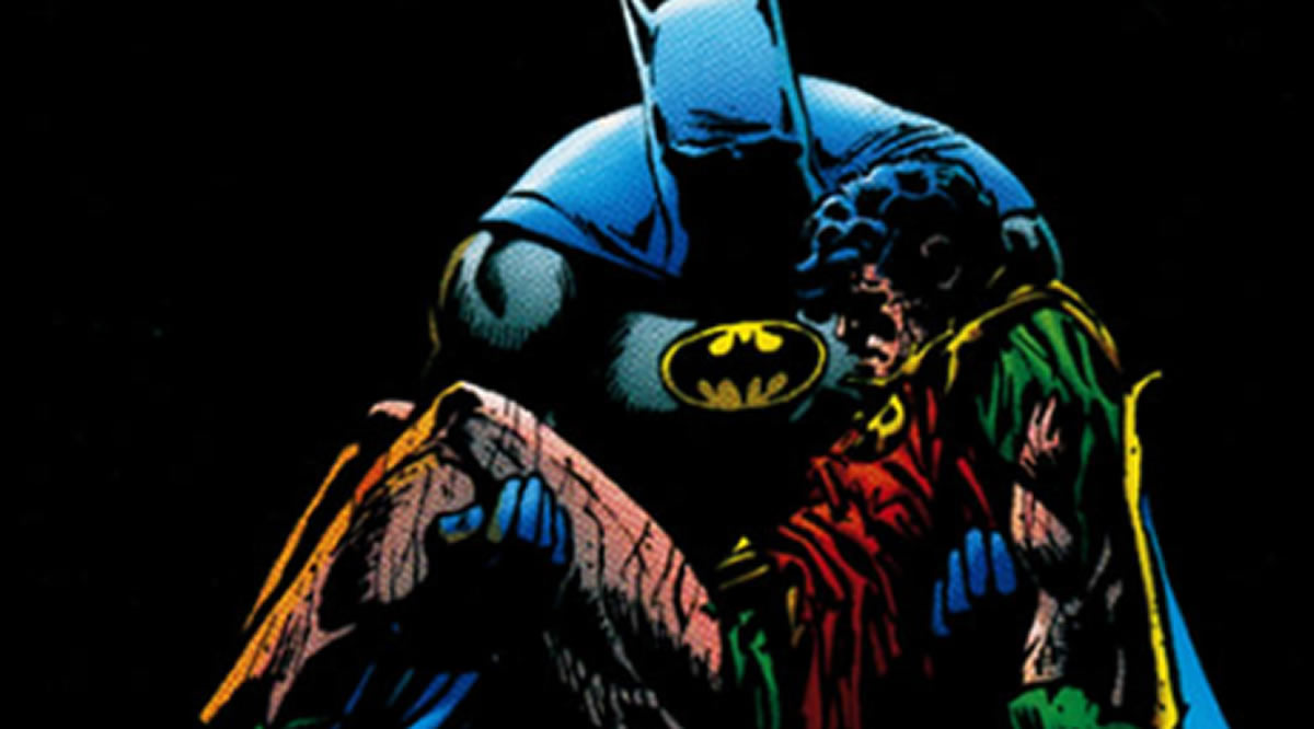 ¿Cómo hubiera sido si Jason Todd (Robin 2) no hubieramuerto?