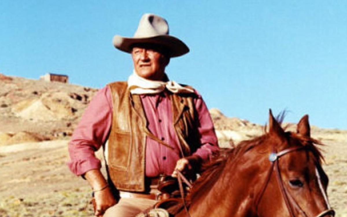 """Al """"duro"""" John Wayne sólo lo pudo matar una explosiónnuclear"""