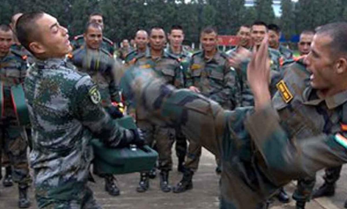 ¿China resolvió conflicto bélico con artes marciales en2020?
