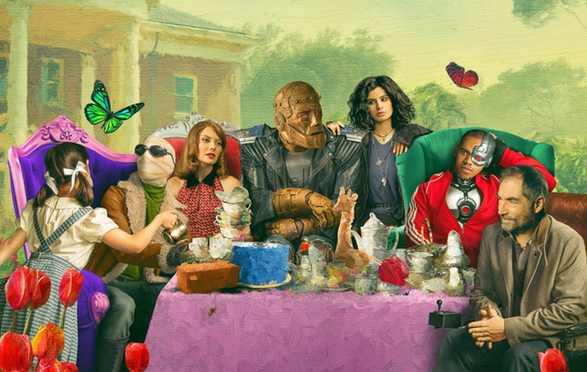 Doom Patrol, The Umbrella Academy, Legión son las series más raras de superhéroes
