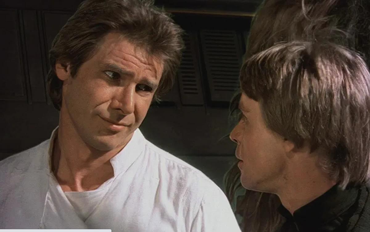 Harrison Ford revela número de teléfono de Mark Hamill en escena de StarWars