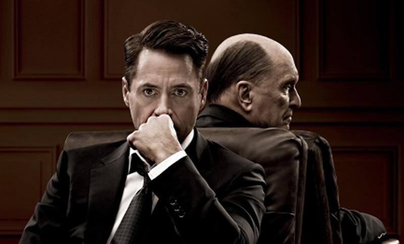 Robert Downey Jr. en reto actoral con Robert Duvall: El Juez (un filme de2014)